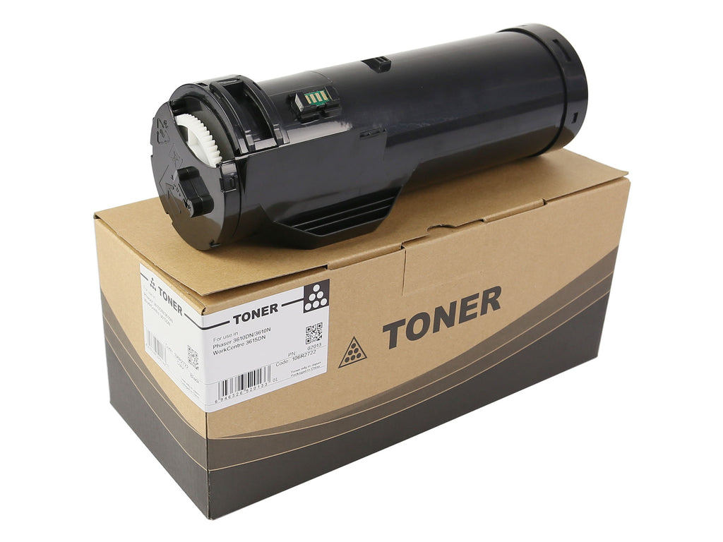 Compatible Xerox 106R02722 Toner Cartridge For Phaser 3610, WorkCentre 3615 Black - 14.1K