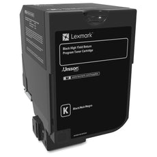 OEM Lexmark 74C1HK0 Toner Cartridge For CS720, CS725 Black - 20000 Pages