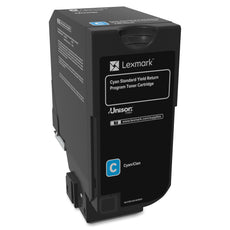 OEM Lexmark 74C1SC0 Toner Cartridge For CS720, CS725, CX725 Cyan - 7K