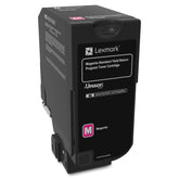Lexmark 74C1SM0 OEM Toner Cartridge For CX725 Magenta - 7K