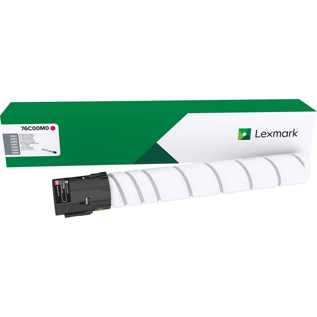 OEM Lexmark 76C00M0 Toner Cartridge - Magenta - 11500 Pages