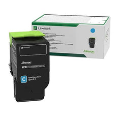 Lexmark 78C1UC0 OEM Toner Cartridge Cyan - Ultra High Yield - 7K