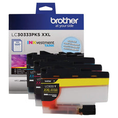 OEM Brother LC3033, LC30333PKS Extra High Yield Color - Ink Cartridges - 3 Pack