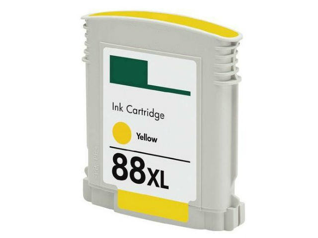 Compatible HP 88XL, C9393AN, C9388AN Ink Cartridge For OfficeJet Pro L7750 Yellow - 1.7K