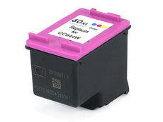 Compatible HP 60XL, CC644WN Ink Cartridge - High Yield - Tri-Color - 440 Pages