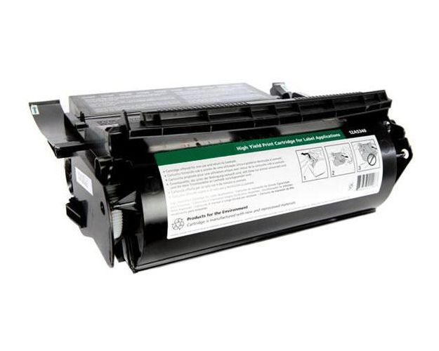 Original Lexmark 12A7630 Laser Toner Cartridge - Black - 32000 Pages