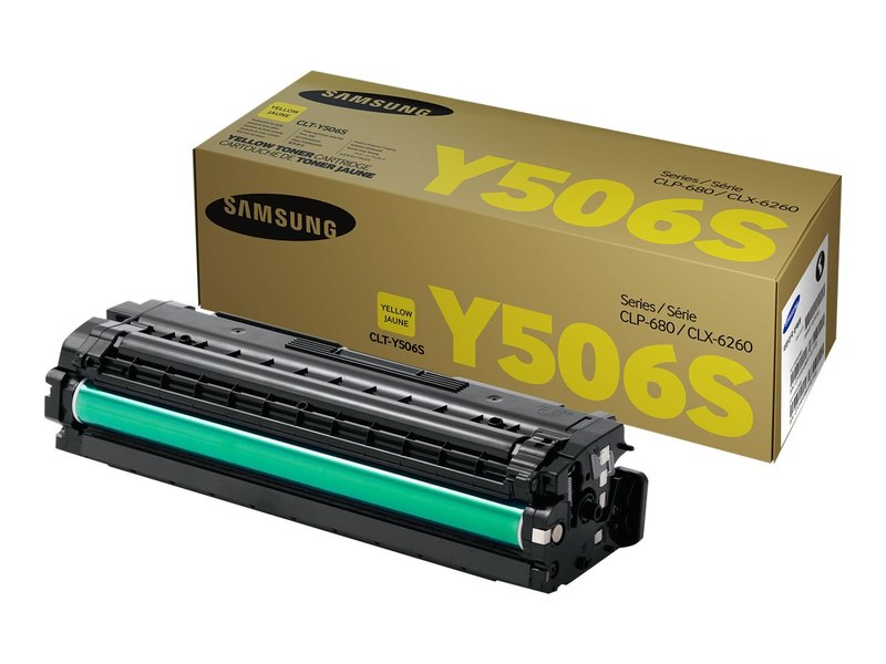 OEM Samsung CLT-Y506S, SU528A Toner Cartridge - Yellow - 1500 Pages
