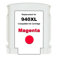 Compatible HP 940XL, C4908AN Ink Cartridge For OfficeJet Pro 8000, 8500 Magenta - 1.4K