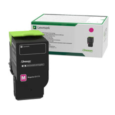 Lexmark 78C1XM0 OEM Toner Cartridge - Magenta - Extra High Yield - 5000 Pages