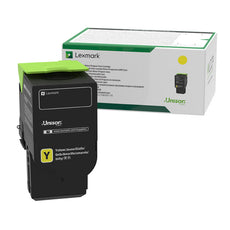 Lexmark 78C1XY0 OEM Toner Cartridge - Yellow - Extra High Yield - 5000 Pages