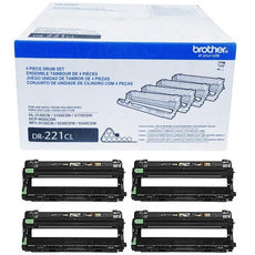 OEM Brother DR221CL, DR-221CL, 4-Piece - Drum Unit B/C/Y/M (15,000 Yield)