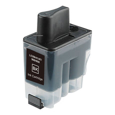 Compatible Brother LC41BK, LC-41BK Ink Cartridge - Black - 500