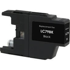 Compatible Brother LC79BK, LC-79BK Ink Cartridge For MFC-J5910DW, J6910DW Black - 2.4K