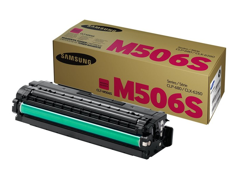 OEM Samsung CLT-M506S, SU318A Toner Cartridge - Magenta - 1500 Pages