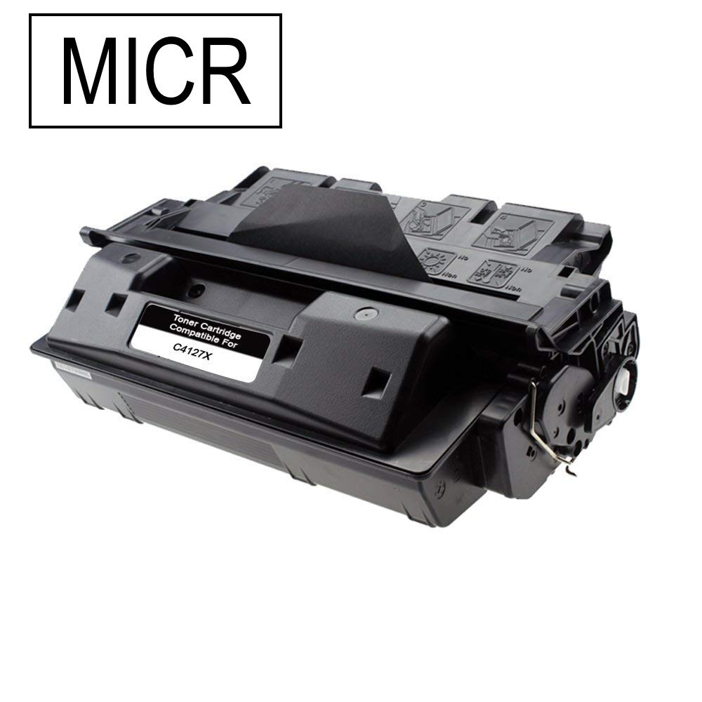 Compatible HP C4127X, 27X MICR Toner Cartridge For LaserJet 4000, 4050 Black - 10K