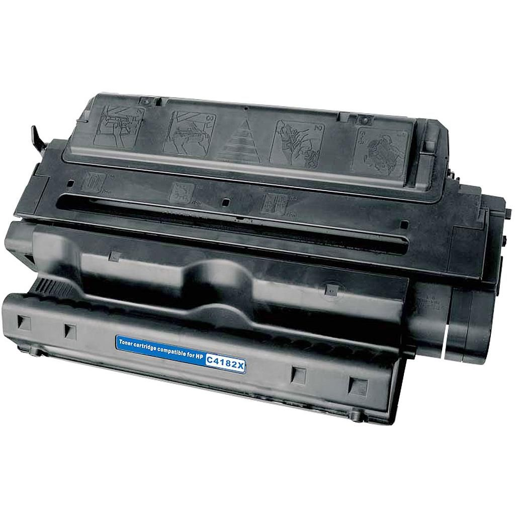 Compatible HP C4182X, 82X Toner Cartridge For LaserJet 8100, 8150 Black - 20K