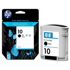 OEM HP 10, C4844A Ink Cartridge - Black - 2,200 Pages