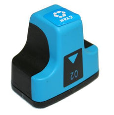 Compatible HP 02, C8771WN Ink Cartridge Cyan - 350