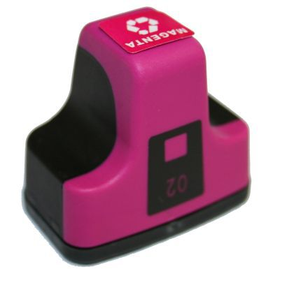 Compatible HP 02, C8772WN Ink Cartridge Magenta - 350