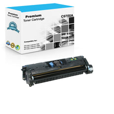 Compatible HP C9700A, 121A Toner Cartridge For Color LaserJet 2500, 2840 Black - 4K