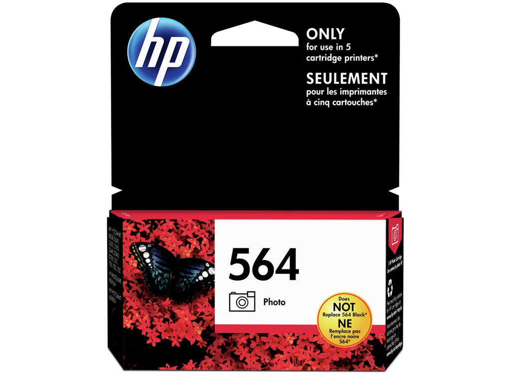 Original HP 564, CB317WN Ink Cartridge - Photo Black - 130 Pages