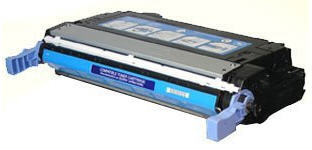 Compatible HP CB401A, 642A Toner Cartridge For Color LaserJet CP4005 Cyan - 7.5K