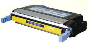 Compatible HP CB402A, 642A Toner Cartridge For Color LaserJet CP4005 Yellow - 7.5K