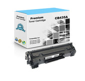 Premium Compatible HP CB435A, 35A Toner Cartridge For LaserJet P1005, P1006 Black - 1.5K