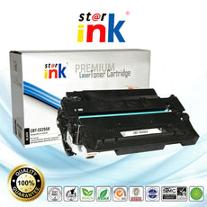 StarInk Compatible HP CE255X, 55X Toner Cartridge Black - 12.5K