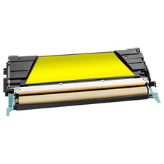 Compatible Lexmark C734A1YG, C734A2YG Toner Cartridge for C734DN Yellow - 6K