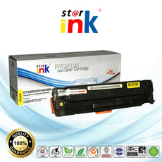 StarInk Compatible HP CE412A, 305A Toner Cartridge Yellow - 2.6K