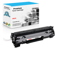 Compatible HP CE285A, 85A MICR Toner Cartridge For LaserJet Pro M1130 Black - 1.5K
