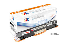 StarInk Compatible HP CE312A, 126A Toner Cartridge Yellow - 1K