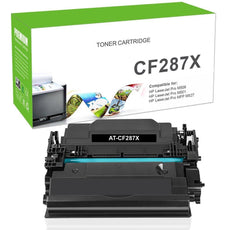 Compatible CF287X, 87X Toner Cartridge - Black - 18K