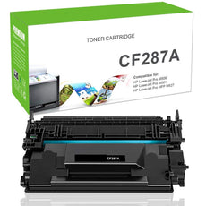 Compatible CF287A, 87A Toner Cartridge - Black - 9.8K
