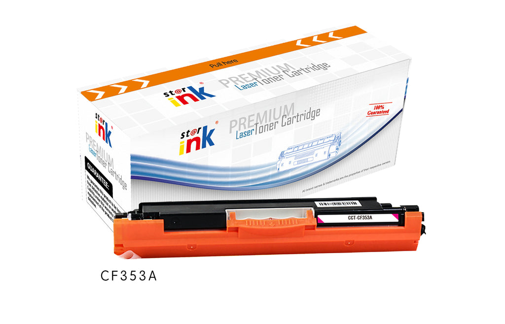 StarInk Compatible HP CF353A, 130A Toner Cartridge - Magenta 1000 Pages