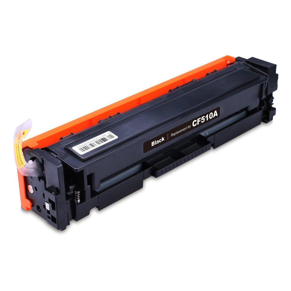 Compatible HP CF510A, 204A Toner Cartridge - Black - 1100 Pages