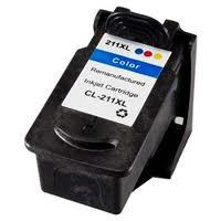 Compatible Canon CL-211XL, 2975B001 Ink Cartridge For PIXMA MX350 - Color - 349 Pages