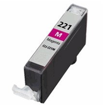 Compatible Canon CLI-221M, 2948B001 Ink Cartridge - Magenta - 535 Pages