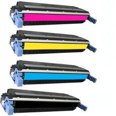 Compatible HP 503A Toner Cartridges for Q6470A, Q7581A, Q7582A, Q7583A - Value Pack