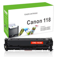 Compatible Canon 118, CRG-118M, 2660B001 Toner Cartridge For imageClass MF8580 Magenta - 2.8K