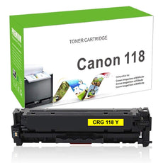 Compatible Canon 118, CRG-118Y, 2659B001 Toner Cartridge For imageClass MF8580 Yellow - 2.8K