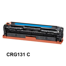 Compatible Canon 131, CRG-131C, 6271B001 Toner Cartridge For imageClass MF8280 Cyan - 1.8K
