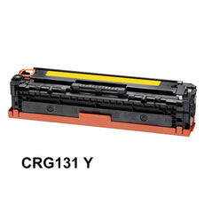 Compatible Canon 131, CRG-131Y, 6269B001 Toner Cartridge - Yellow - 1.8K