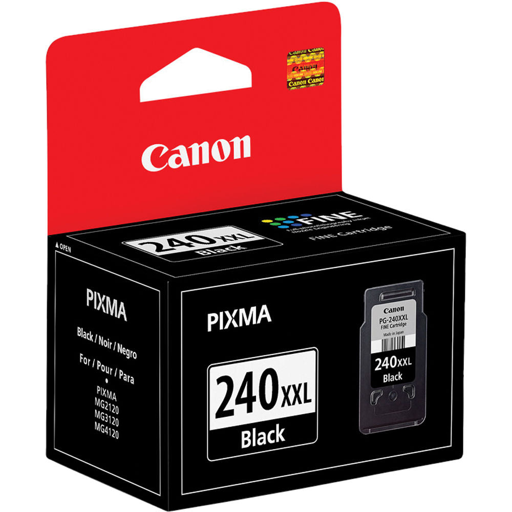 OEM Canon 5204B001, PG-240XXL Black Ink Cartridge - Extra High Yield - 600 Pages