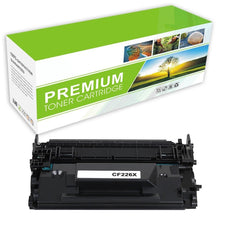 Compatible HP CF226X, 26X Toner Cartridge - Black - 9K