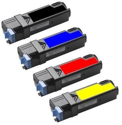 Compatible Dell 1320 Toner Cartridges for Black, Cyan, Yellow, Magenta - Value Pack