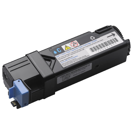 Compatible Dell 330-1437, T107C Toner Cartridge For 2130, 2135 Cyan - 2.5K
