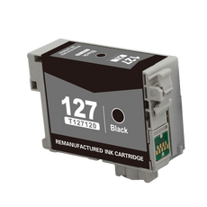 Compatible Epson 127, T1271, T127120 Ink Cartridge For Workforce 630 Black - 755