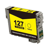 Compatible Epson 127, T1274, T127420 Ink Cartridge For Workforce 630 Yellow - 755